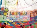LUCKYKIDS彩虹网儿童户外大型攀爬网游乐场儿童健身攀爬网