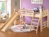 特价带滑梯儿童床带梯柜床护栏带学习书桌组合松木单人床