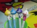 韩国文具可爱持日本和服女孩0.38中性笔