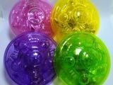新款电动音乐发光漂移陀螺飞碟玩具 七彩闪光UFO 运动休闲玩具