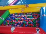 儿童充气沙池,决明子沙池,海洋球池滑梯组