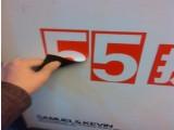 供应广告材料喷绘写真磁吸写真环保贴画面平整配套使用性价比高