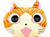 深圳毛绒玩具厂家定制可爱猫咪卡通毛绒通暖手宝 毛绒公仔