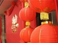 三亚凯莱酒店宴会厅中国红婚宴