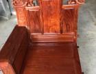 新会红木家具:富贵满天沙发