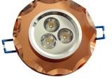 【企业集采】销售高端各种led灯具 3Wled水晶灯天花射灯筒灯