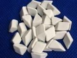佛山高铝瓷斜三角研磨石规格6 12