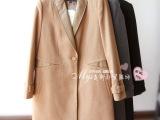 爆款补货!韩国羊毛大衣~83938原单冬季外套-包装齐全品质好