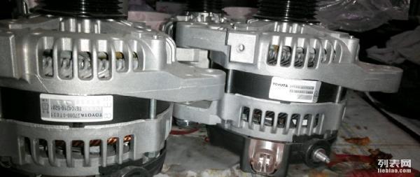 花冠原厂发电机,丰田5a,8a发电机,起动机