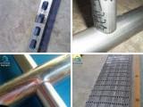 专业生产不锈钢管防盗网冲孔机 护栏围栏冲弧机 模具可定做