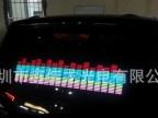 LED发光音乐车贴.