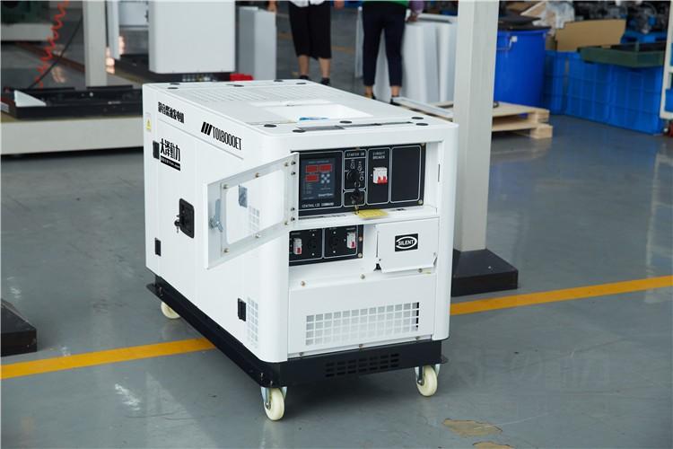 12kw柴油发电机耗油低