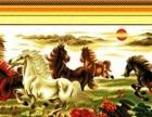 低价出售八匹骏马成品十字绣