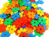 益智拼插玩具 树叶大雪花片 幼教玩具 开发智力