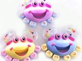 0-1岁宝宝玩具 螃蟹手摇铃 爆款婴儿早教玩具 早教玩具