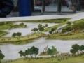 迎客松:一幅手工精细长2.09米,宽1米的十字绣现出售,