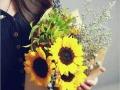 娜家花店 鲜花花篮 头车 节日用花