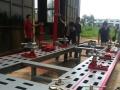猛钢板大梁校正仪 钣金修复平台 汽车骨架整形 厂家真供