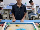 沙盘游戏较能激发孩子表达欲望的媒材厦门教育招商加盟