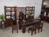 老船木茶桌椅组合仿古茶台复古家具实木茶新中式加工定制