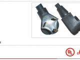 厂家直销美标插头电源线/橡胶线/延长线