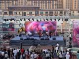 天津展位背景板搭建灯光音响舞台大屏租赁展览展会礼仪主持模特