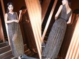 2015新款时尚长裙礼服 晚礼服 宴会服 长款无袖派对晚装