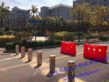 校园道路升降柱,全自动液压路障,遥控升降路桩