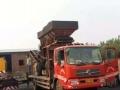 转让 拖车13年拖板车出售 拖挖掘机