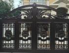 河东安装铝艺大门别墅铝艺护窗