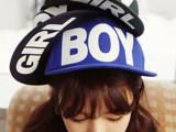 爆款热卖男女生街舞嘻哈帽子 欧美潮范BOY刺绣平沿棒球帽 可调节