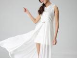 长裙女装一件代发厂家直销欧美大码仿夏季女码秋装雪纺连衣裙A010
