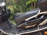 个人九成新的女装踏板么托车