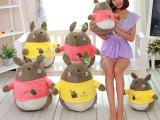 正版Totoro龙猫动漫宫崎骏龙猫公仔大号毛绒玩具布娃娃一件代发