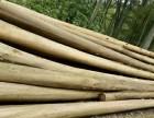 供应秦皇岛高压电线防护沙松杆 绿化支撑杉木杆 景观古建安装