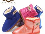 2014冬季新款澳洲Ugg儿童雪地靴真皮童鞋韩国男女宝宝鞋一件代