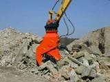 挖掘机破碎钳 定做日立210钩机粉碎钳 拆除楼房效率高
