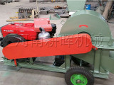 木屑机怎么样配置材柴油机/柴油机木材削片机厂家好的有哪些