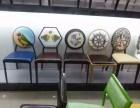 欧式实木餐椅 新古典时尚餐椅咖啡馆桌椅 欧式酒店主题复古餐椅