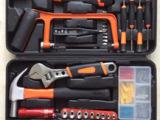 厂家直销家用多功能工具箱 五金组合工具套装大82件套装电筒款