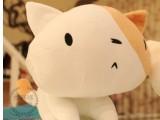 可爱卡通猫咪毛绒玩具 大脸猫公仔 大花猫玩偶 情侣礼物