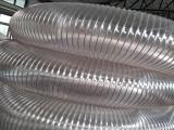 PU伸缩管湖北工业通风管吸粉尘管聚氨酯材料抗裂耐磨