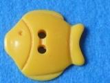 鱼形卡通树脂纽扣,扣子
