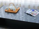 实体店** 透明磨砂防烫PVC软玻璃 桌