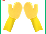 出口非一次性精美清洁手套 新款专利过滤网海绵清洁手套 洗碗必备