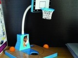 90生活 运动篮球灯 LED护眼充电台灯 触摸调光桌面灯儿童灯卡