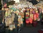 广州专业高价收购食品公司积压塑料袋塑料卷膜手提袋加工塑料颗粒