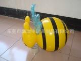 厂家供应 环保儿童益智早教玩具 PVC充气蜜蜂公仔