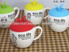 时尚创意苹果杯 zakka陶瓷杯 厂家直销 可加LOGO
