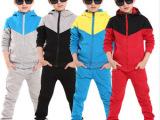 童装男童儿童套装2014春秋装新款潮品 中小童大童儿童运动服 童